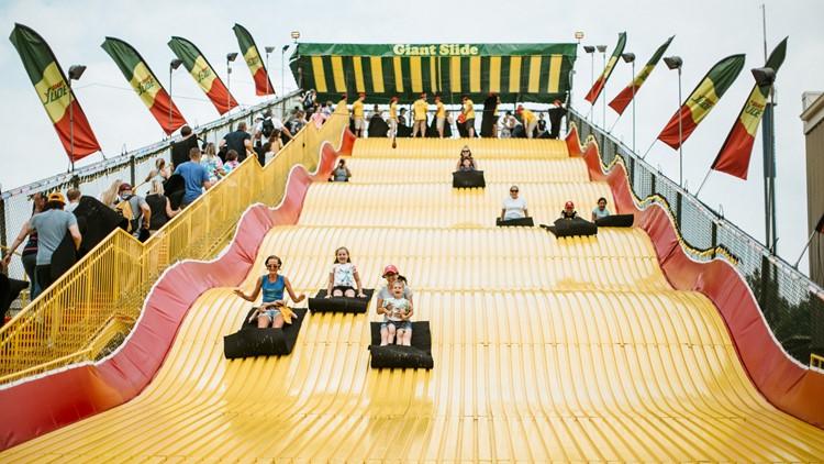 Giant Slide MN State Fair