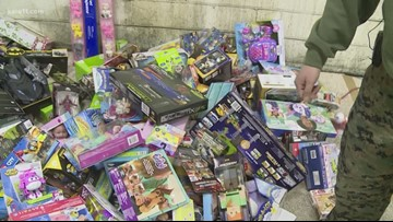 Marines: Toys for Tots down for December