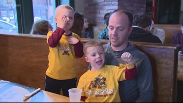 Gopher fans get geared up before 'Big Dance' game