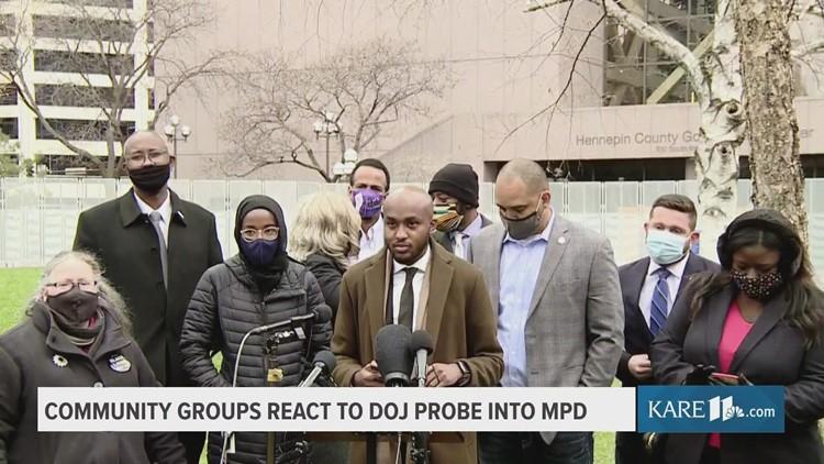 Minnesota community groups call on DOJ to expand Minneapolis police probe
