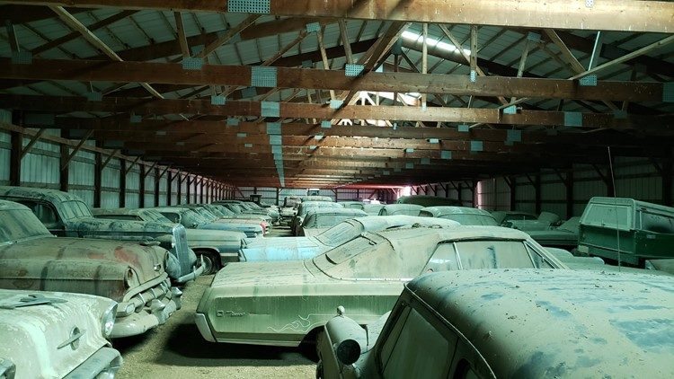 Farmer had 250 classic cars stored in sheds across property