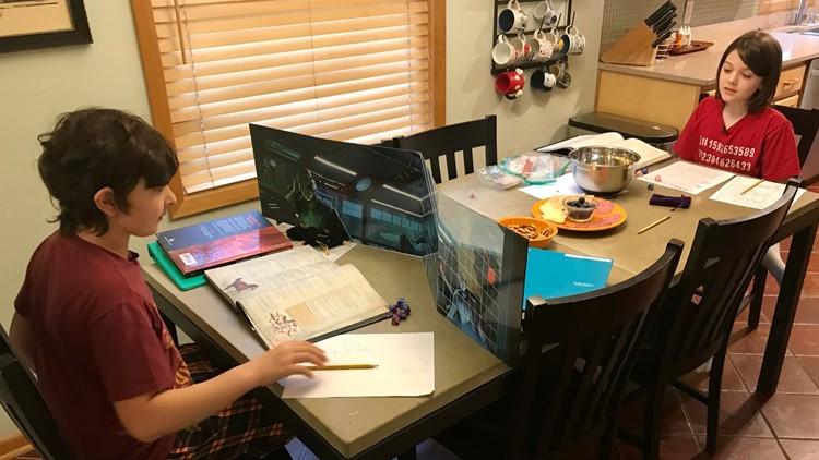 Elliott Tanner plays Dungeons and Dragons with his neighborhood friend AJ Amelse.