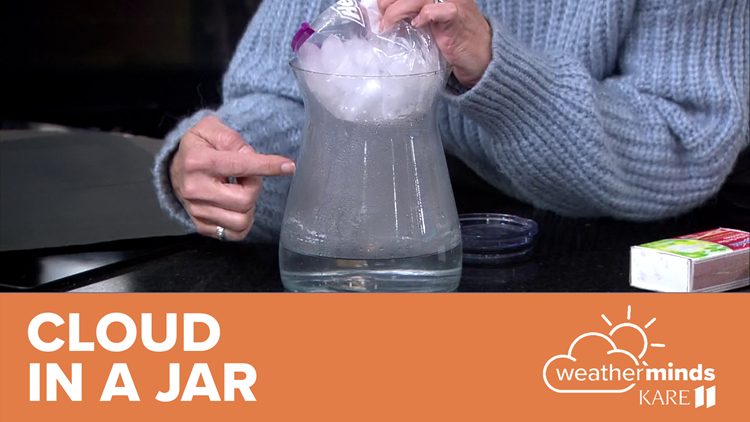 WeatherMinds Experiments: Cloud in a Jar