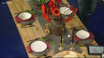 Fall tablescapes with Andy Higgins