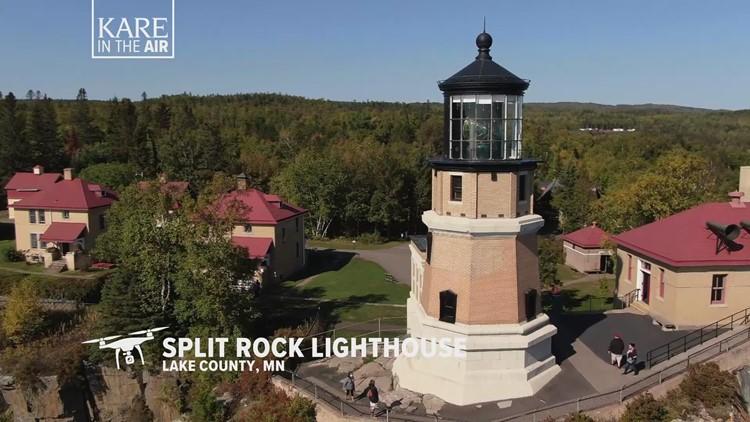 KARE in the Air: Split Rock Lighthouse