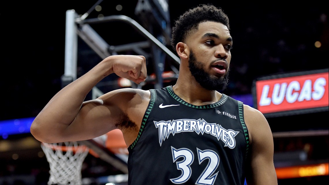 Timberwolves' Karl-Anthony Towns involved in crash, questionable Friday