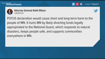 Minnesota joins lawsuit challenging national emergency