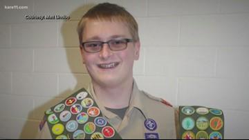 Minnesota Eagle Scout earns every badge