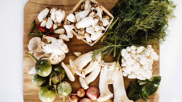 Lao New Year recipe: Mushroom Laab