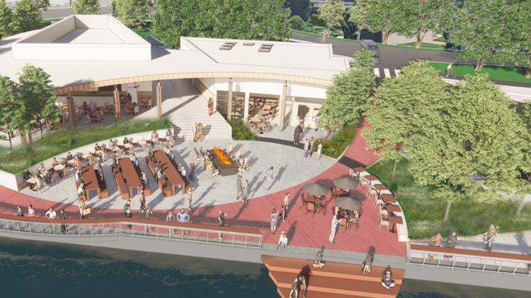 New plan for burned Bde Maka Ska pavilion unveiled