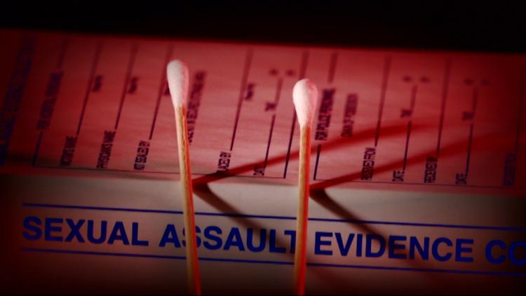 Swabs from a rape kit