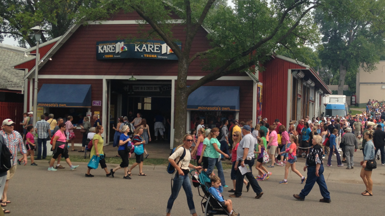 KARE 11 Barn events and giveaways at the 2021 Minnesota State Fair