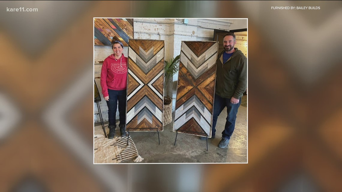 'Bailey Builds' creating wooden works of art in Duluth