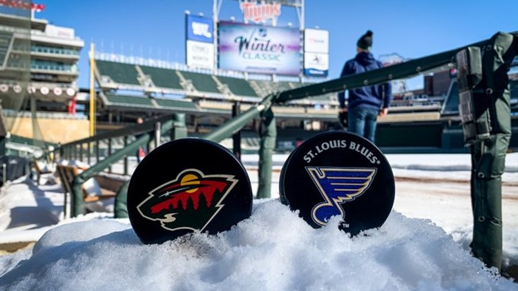 Wild to host St. Louis Blues at Target Field in 2022 Winter Classic