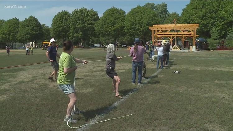 Communities that KARE: Logan Park pavilion