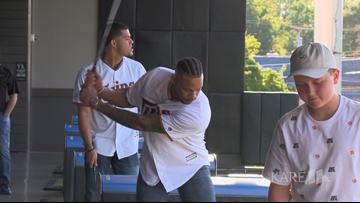 Twins host inaugural charity event at Top Golf