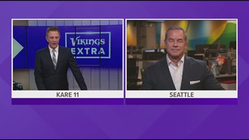 Perk previews Vikes-Seahawks with KING's Paul Silvi