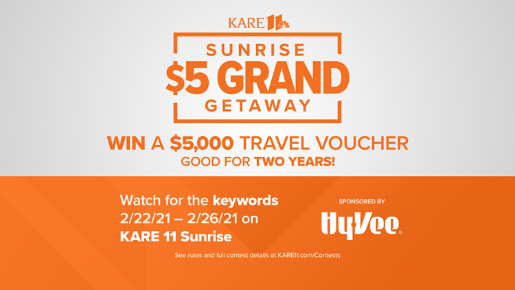 CONTEST ENDED: Sunrise $5 Grand Get away