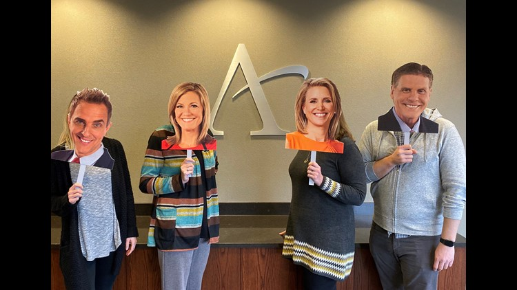 Anchors on a stick at Affinity
