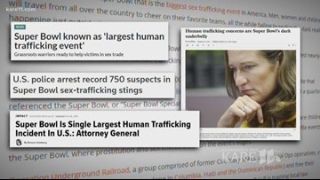 VERIFY: Is the Super Bowl the single biggest sex trafficking event in the world?