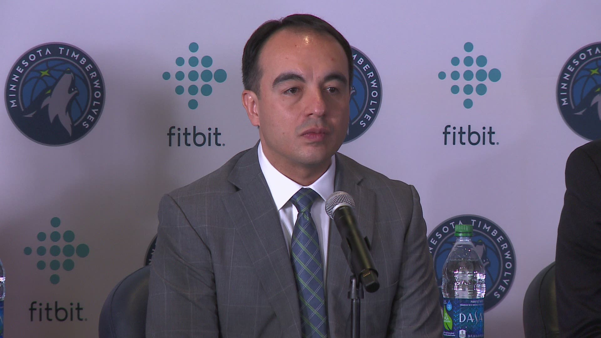 gersson rosas introduced as new timberwolves president of
