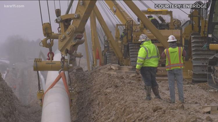 State investigates Line 3 drilling fluid spill