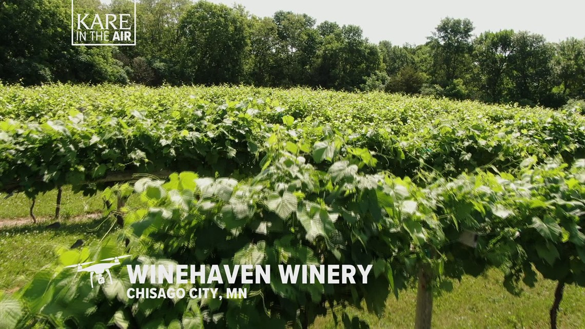 KARE in the Air: Winehaven in Chisago City, Minnesota