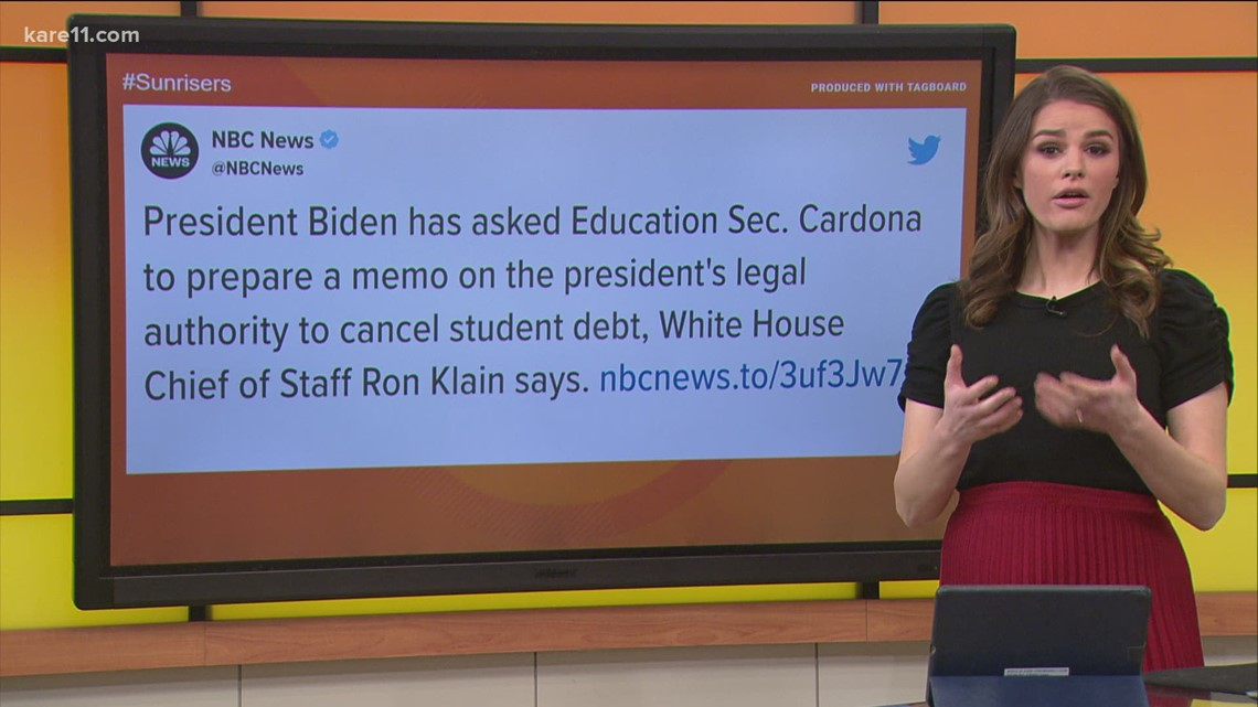 President Biden considers executive action on student debt