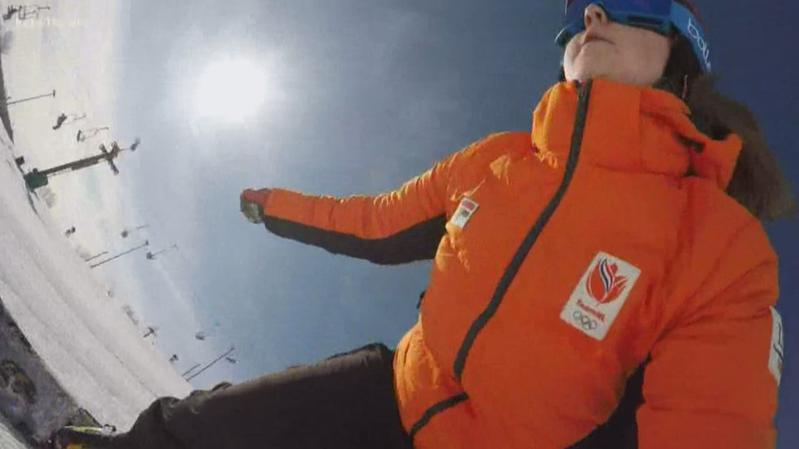 Snowboarders train at Buck Hill for World Cup