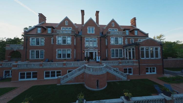 Creators of viral Bryant Lake Bowl drone video take flight through Glensheen Mansion