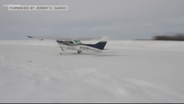 Lake Mille Lacs turns into 'iceport'