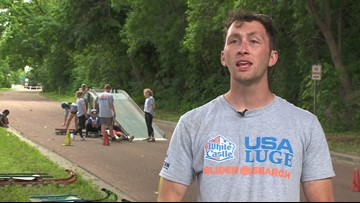 USA Luge Slider Search rolls through Minneapolis
