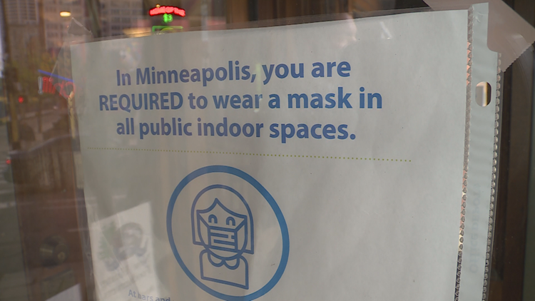 Minnesota Twins and Minneapolis businesses juggle conflicting mask rules
