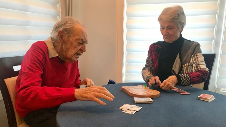 Oldest man in MN, cribbage champ Harry Camp dies at 108