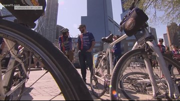 Great Cycle Challenge participants ride together to fight cancer