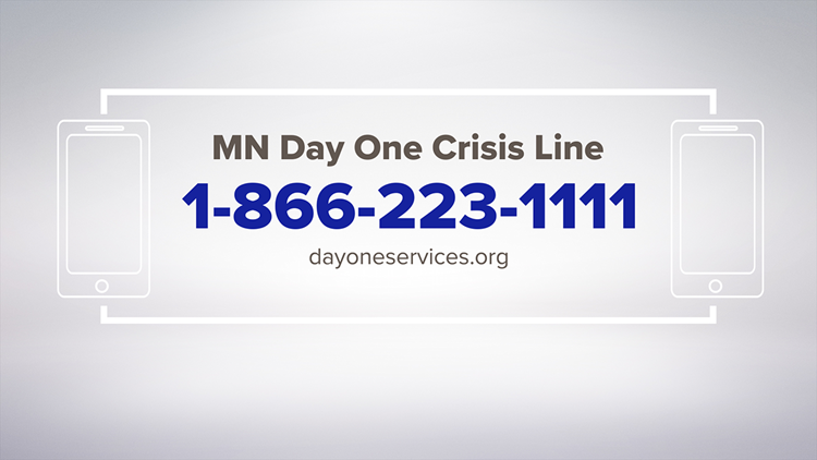 If you are the victim of domestic violence and are looking for help, here's the number for the Minnesota Day One Crisis Line.