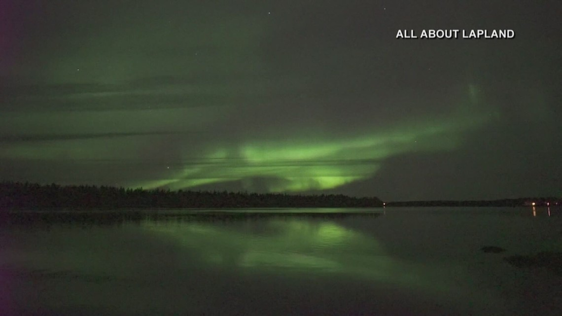 The northern lights could put on another show tonight