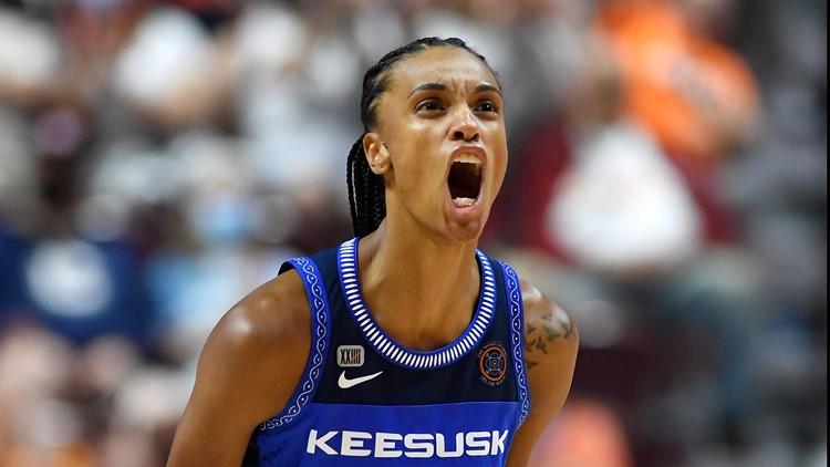 Bonner's 31 points, 11 rebounds lead Sun past Lynx 82-71
