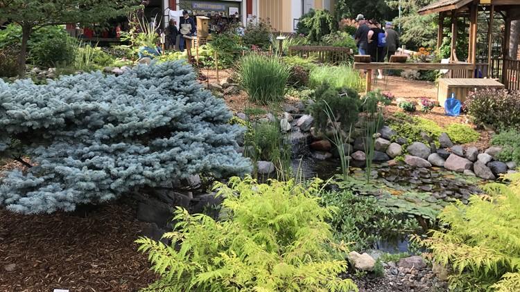 Horticulture building garden