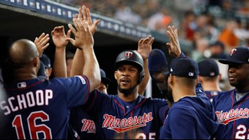 Twins' Byron Buxton out for the season