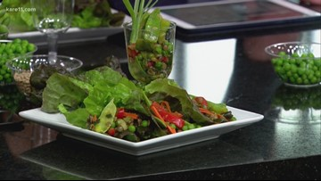 Chef Lisa's wild about peas recipes