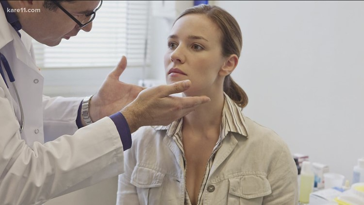 Vaccines can cause swollen lymph nodes, showing up in an annual mammogram