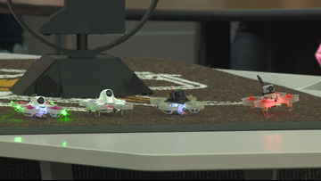 Apple Valley High School hosts inaugural drone racing tournament