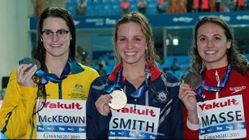 Regan Smith wins gold medal in 200-meter backstroke world finals
