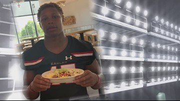 Prep football stars reveal their food weaknesses
