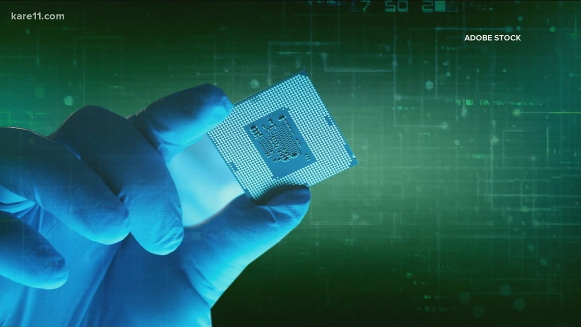 Businesses hurting from global microchip shortage