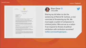 Digital Dive: Rep. Omar responds to man who threatened her