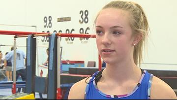 Champlin Park gymnast seeks third straight all-around title