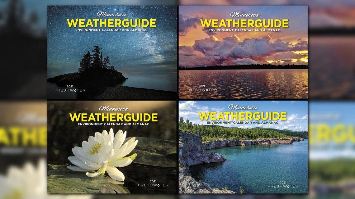 Vote for the 2021 Minnesota Weatherguide Calendar cover | kare11.com