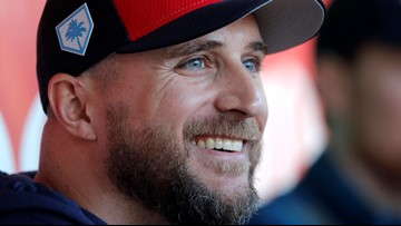 Twins' Rocco Baldelli named AL Manager of the Year